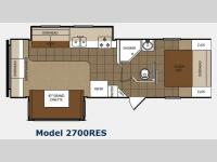 Floorplan - 2012 Prime Time Manufacturing Tracer 2700RES