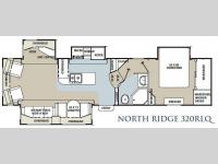 Floorplan - 2012 Coachmen RV North Ridge 320RLQ