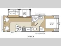 Floorplan - 2012 Coachmen RV Chaparral Lite 267RLS
