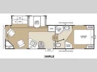 Floorplan - 2012 Coachmen RV Chaparral Lite 268RLE