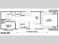 Floorplan - 2011 Skyline Layton 266