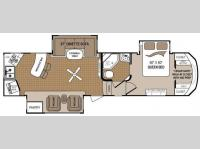 Floorplan - 2012 Dutchmen RV Komfort 3230FRK