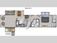 Floorplan - 2012 Keystone RV Avalanche 345TG