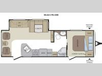 Floorplan - 2012 Keystone RV Cougar 27RLSWE