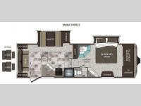 Floorplan - 2012 Keystone RV Cougar High Country 246RLS