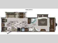 Floorplan - 2012 Keystone RV Cougar High Country 291RLS
