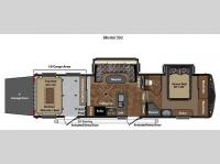 Floorplan - 2012 Keystone RV Fuzion 302