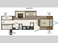 Floorplan - 2012 Keystone RV Laredo Super Lite 291TG