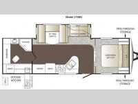 Floorplan - 2012 Keystone RV Outback 279RB