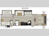 Floorplan - 2012 Keystone RV Passport 3220BH Grand Touring
