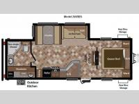 Floorplan - 2012 Keystone RV Sprinter 266RBS
