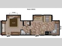 Floorplan - 2012 Keystone RV Sprinter 300KBS