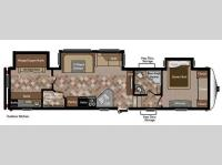 Floorplan - 2012 Keystone RV Sprinter Copper Canyon 324FWBHS