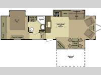 Floorplan - 2012 Open Range RV Journeyer JT340FLR