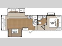 Floorplan - 2012 Dutchmen RV Denali 274REX