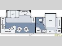 Floorplan - 2012 SunnyBrook Brookside 303 SLS