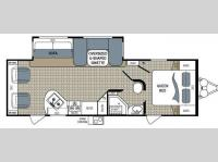 Floorplan - 2012 Dutchmen RV Kodiak 263RLSL