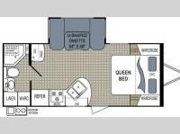 Floorplan - 2012 Dutchmen RV Aerolite 212RBSL