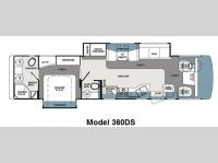 Floorplan - 2012 Forest River RV Georgetown XL 360DS
