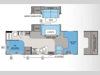 Floorplan - 2012 Jayco Greyhawk 26DS