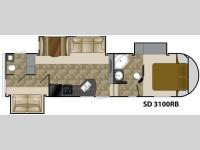 Floorplan - 2012 Heartland Sundance 3100RB
