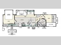 Floorplan - 2012 Forest River RV Sierra Select 32QBBS