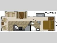 Floorplan - 2012 Heartland North Country 29RLSS
