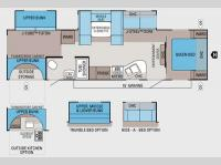 Floorplan - 2012 Jayco Jay Flight 32BHDS