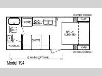Floorplan - 2012 Skyline Aljo Ultra-Lites 194