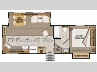 Floorplan - 2011 Northwood Arctic Fox 27-5L