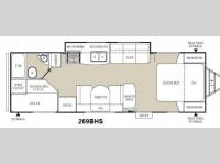 Floorplan - 2012 Coachmen RV Freedom Express LTZ 269BHS