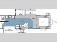 Floorplan - 2006 Forest River RV Rockwood 8318SS