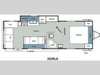 Floorplan - 2012 Coachmen RV Catalina Santara Series 262RLS