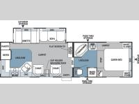Floorplan - 2006 Forest River RV Rockwood 8280 SS