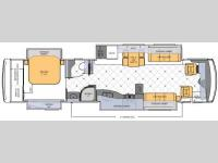 Floorplan - 2012 Newmar Dutch Star 4020