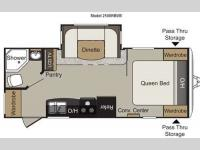 Floorplan - 2012 Keystone RV Passport 2100RBWE