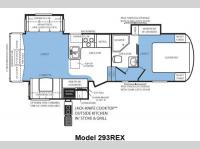 Floorplan - 2012 Forest River RV Wildcat extraLite 293REX
