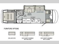 Floorplan - 2012 Monaco Vesta 32 PBS