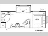 Floorplan - 2012 Cruiser Shadow S-225RBS