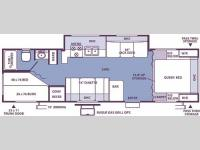 Floorplan - 2006 Forest River RV Flagstaff 27BHSS
