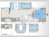 Floorplan - 2012 Jayco White Hawk 26DSRB