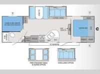 Floorplan - 2012 Jayco White Hawk 28DSBH