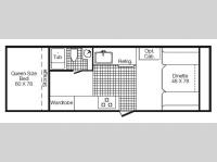 Floorplan - 2012 TrailManor Classic Series 2720SD