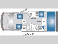 Floorplan - 2006 Pleasure-Way Ford Excel Excel TS