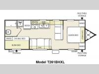 Floorplan - 2013 Forest River RV Wildwood X-Lite 261BHXL