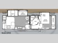 Floorplan - 2013 Skyline Koala 32RKS