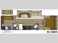 Floorplan - 2013 Heartland North Country Lakeside SLT 30BHS SLT
