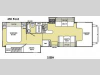Floorplan - 2013 Coachmen RV Freelander 32BH Ford 450