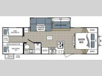 Floorplan - 2013 Dutchmen RV Kodiak 283BHSL Express