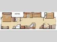 Floorplan - 2013 Gulf Stream RV Innsbruck 408TBS